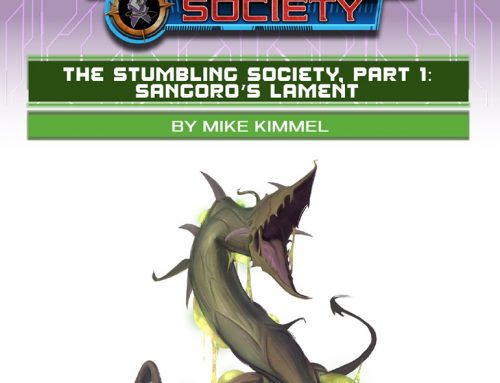 Starfinder Society Scenario #2-06: The Stumbling Society, Pt 1 – Sangoro's Lament
